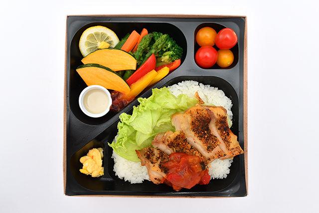 彩り野菜とハーブチキングリル