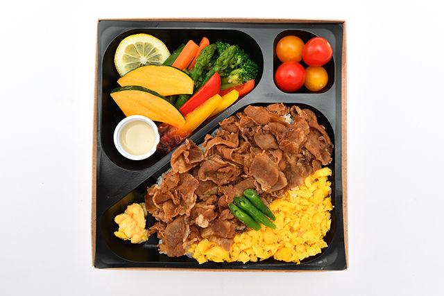 彩り野菜と牛肉の時雨煮